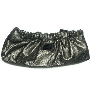 Burberry Farrar Pewter Shimmer Clutch